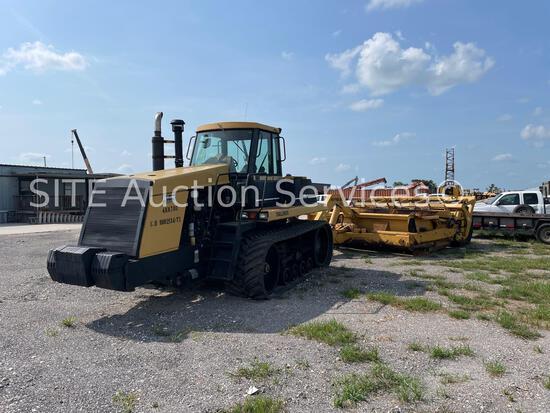 1994 Caterpillar Challenger 75C Track Tractor w/ 2001 Reynolds 18CMX Scraper