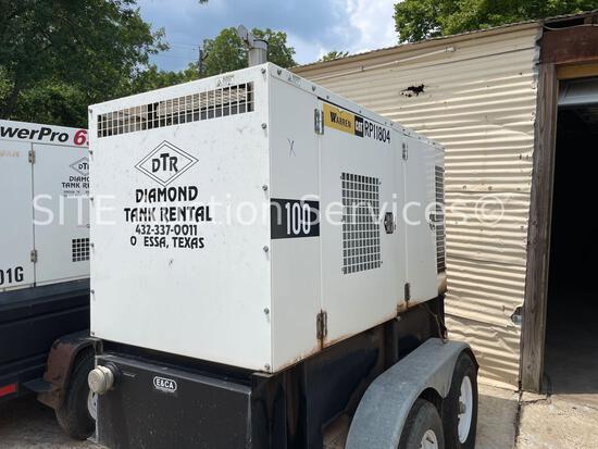 2015 Warren Power Systems NPS-P--100 100 kW Generator