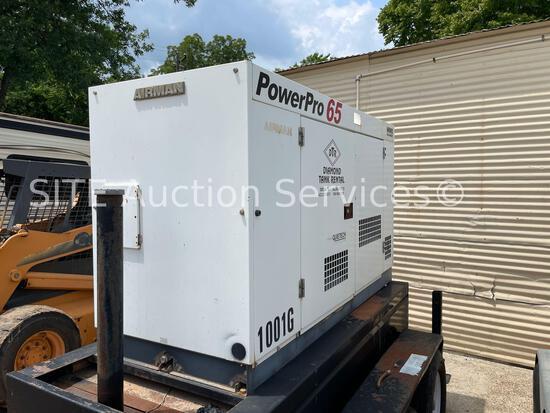 2015 Airman PowerPro 65 SDG65S Generator