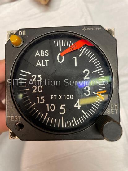 Sperry RA-315 Radio Altimeter Indicator