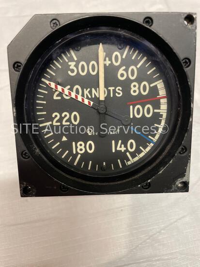 Beechcraft 101-384128-3 Max Allowable Airspeed Indicator