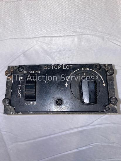 Sperry SPZ-200 Autopilot Panel
