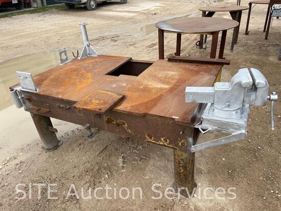 Welding Table w/ Vise