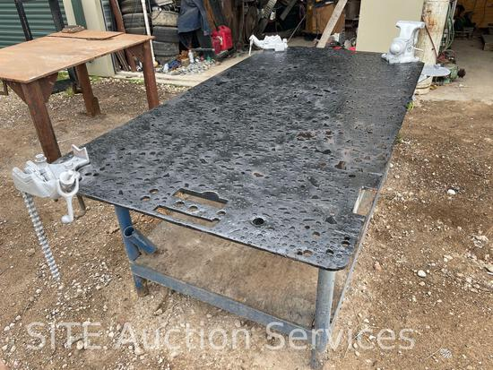 Welding Table with Vises