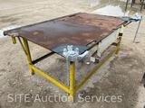 Welding Table w/ Ridgid Screw Bench Chain Vise