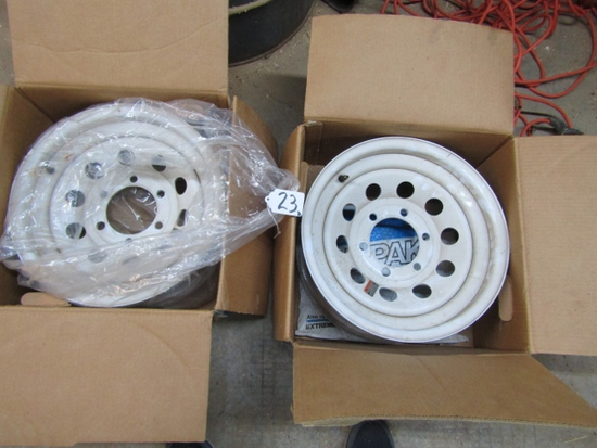 2 Good Used Dexter Trailer Rims ( Pick Up Only )