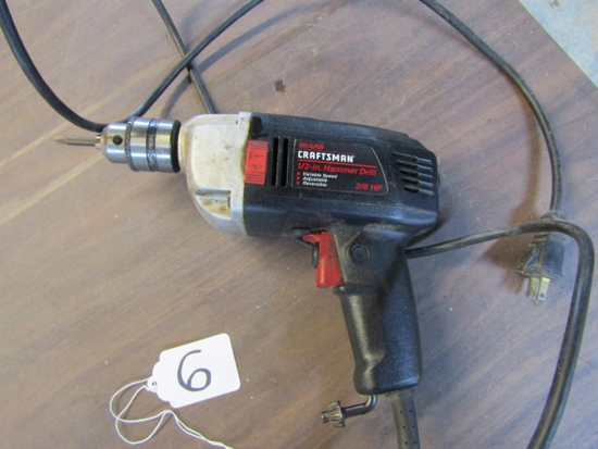 "Sears Craftsman 1/2"" Hammer Drill"