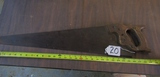 Vtg Disston Hand Saw ( Pick Up Only )