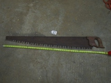 Vtg One Man Cross Cut Saw ( Pick Up Only )