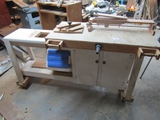 Nice Rolling Work Table W/ Equipment Shown On Top ( Pick Up Only )
