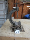 Vtg Bench Top Cast Metal Pipe Clamp
