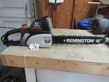 Remington Electric 3.0 Peak H P Chain Saw W/ 16