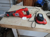 Black And Decker Firestorm F S 1800 R S 18 Volt Sawzall W/ Battery And Charger