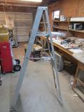 Werner 6 Foot Aluminum Step Ladder  ( Pick Up Only )