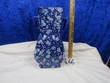 Large Heavy Porcelain Vase
