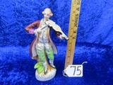 Vtg Made In Occupied Japan Porcelain Figurine