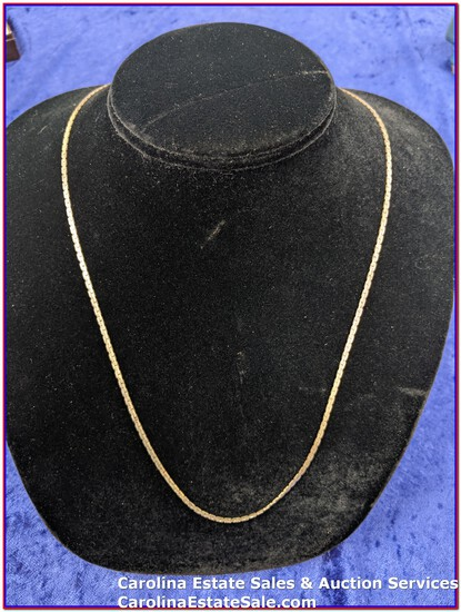 """Sterling """"Stamped Italy 925"""" Chain (Approx Size: 22"""")"""
