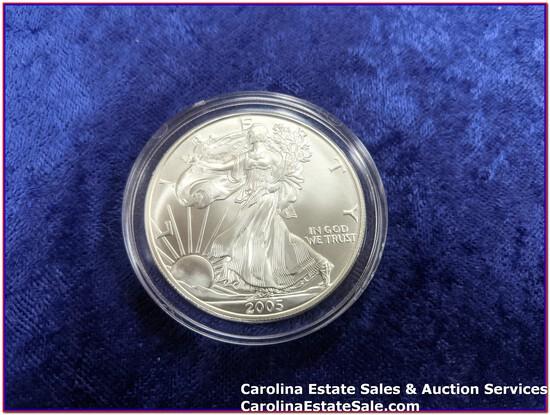 2005 Liberty Silver Dollar