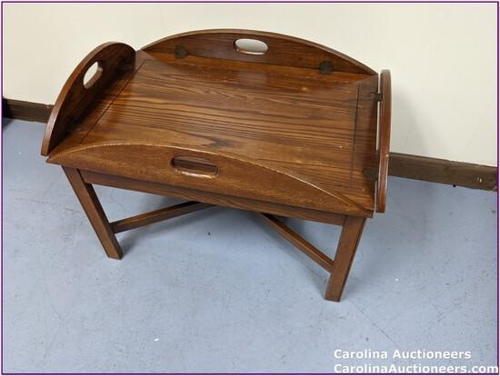 Detachable Vintage Tray Top Table