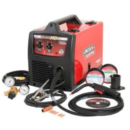 Lincoln Electric 140 Amp Weld Pak 140 HD MIG Wire Feed Welder, $602.6 Est. Retail Value