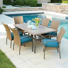 Hampton Bay Corranade 7-Piece Wicker Outdoor