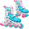 Roller Derby RD 2N1 Inline/Quad Roller Skates Combo, Girl. $45.97 ERV