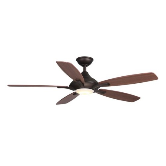 Home Decorators Collection Petersford 52 In. Integrated LED Indoor Ceiling  Fan. $188.60 ERV