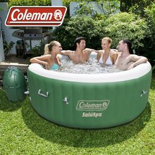 Coleman SaluSpa 4-6 Person Inflatable Portable