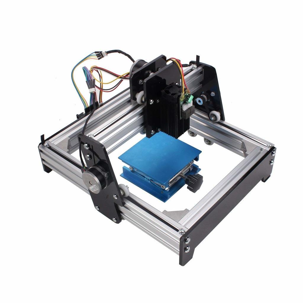 EverVictory 10W Mini Laser Engraving Machine Metal Steel Iron Stone Engraver DIY Printer. $632 MSRP