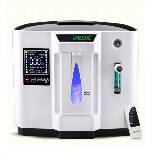 DEDAKJ Home O2 Concentrator Generator, Adjustable Portable Machine. $409 MSRP