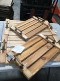 Wood Trays w/ Slats