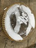 Gold Beaded Charger Plates. $47 MSRP