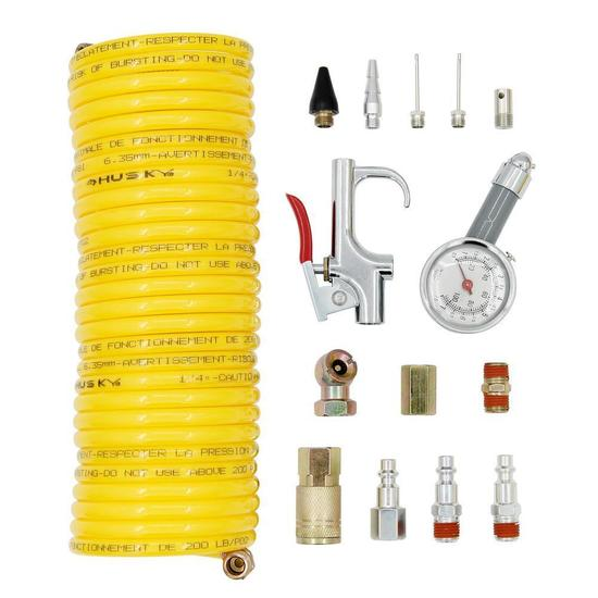 Husky 25 ft. Nylon Recoil Kit, $18 MSRP