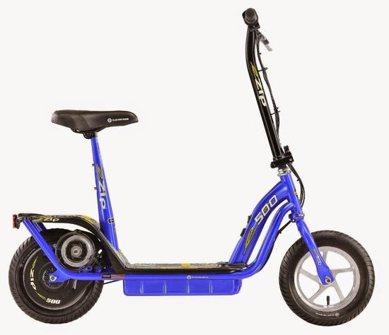 Currie Technologies 500 eZip Electronic Scooter - Blue