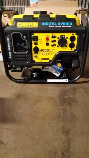Champion Digital Hybrid Generator $600 MSRP