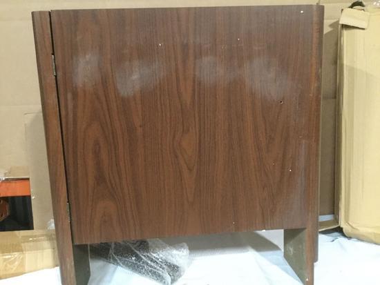 Shuffleboard table wallnut