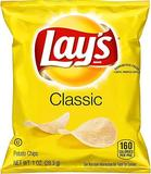 dispose - Lay's Classic Potato Chips, 1 oz (Pack of 40)