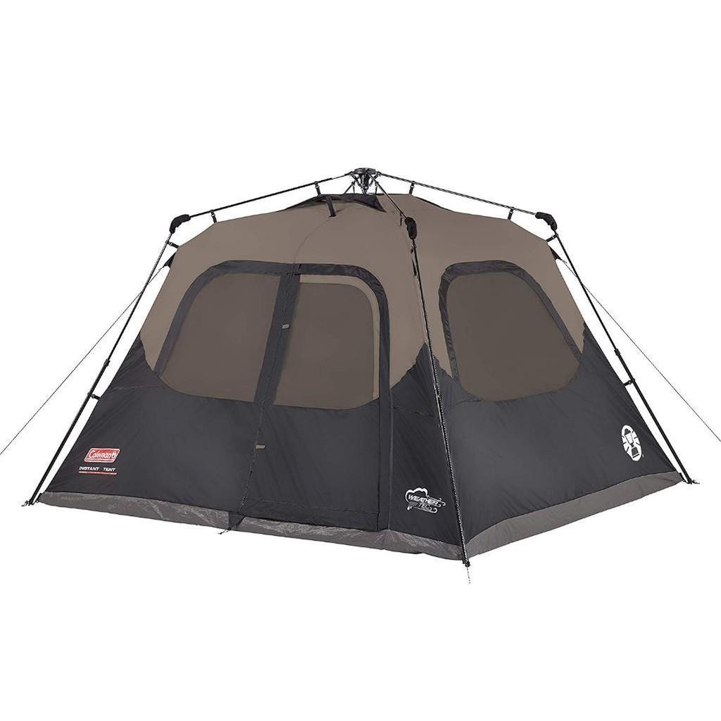 Coleman Cabin Tent with Instant Setup | Cabin Tent for Camping Sets Up in 60 Seconds $135.00 MSRP