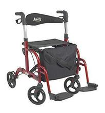 Juvo Convertible Rollator-Transport Chair,
