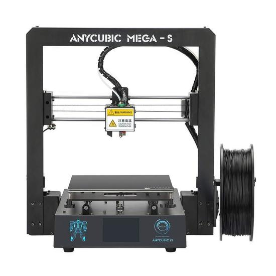 ANYCUBIC Mega-S New Upgrade 3D Printer with Extruder and Suspended Filament Rack $299.99 MSRP