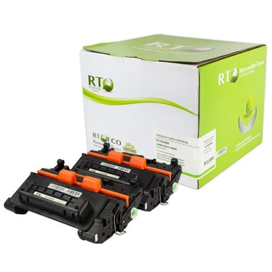 Renewable Toner Compatible Cartridge Replacement HP 90A CE390A (Black, 2-Pack) - $85.00 MSRP