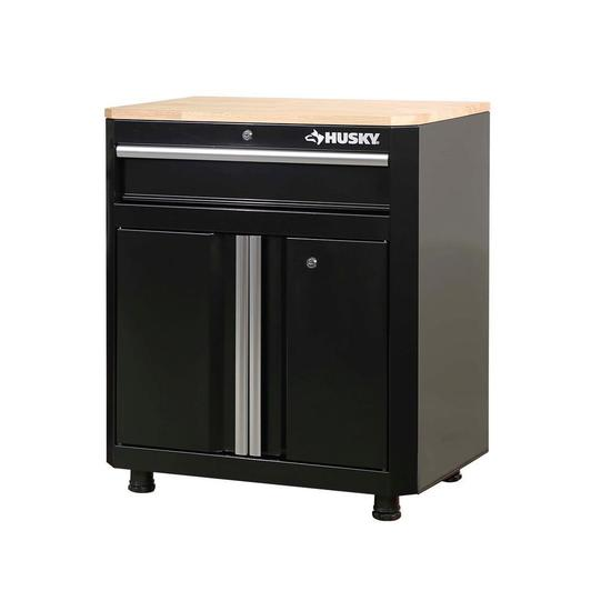Husky 28in 1-Drawer 2-Door Base Cabinet