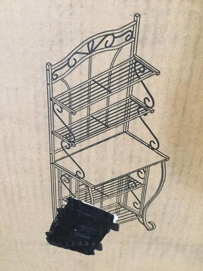 Decorative Free Standing Storage Rack