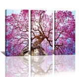Yixuanwall Art-canvas Prints,kx00888 Purple Tree Wall Art Oil Paintings Printed Pictures $50.00 MSRP