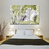 Canvas Wall Art Modern Abstract Painting Wall Art for Room Home Decoration 3 Pcs/Set,14