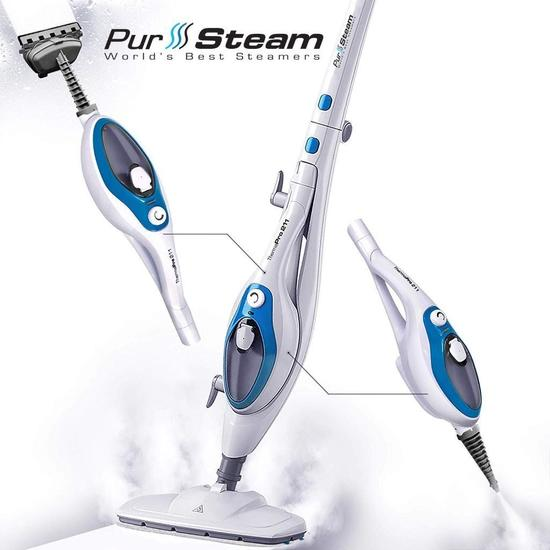 Steam Mop Cleaner ThermaPro 10-in-1 - $65.99 MSRP