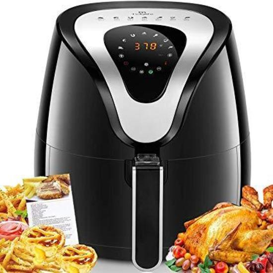 Air Fryer, Tidylife 4.2 Qt Air Fryer XL with LCD Touchscreen - $68.99 MSRP