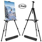 T-SIGN 66 Inches Reinforced Artist Easel Stand - $31.99 MSRP
