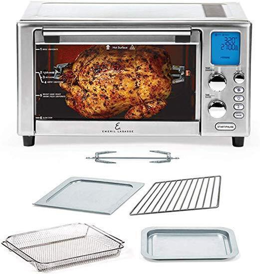 Emeril Lagasse Power AirFryer 360 Better Than Convection Ovens Hot Air Fryer Oven - $204.99 MSRP