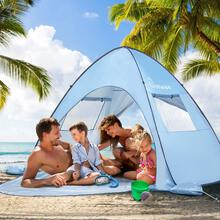 WolfWise UPF 50+ Easy Pop Up Beach Tent